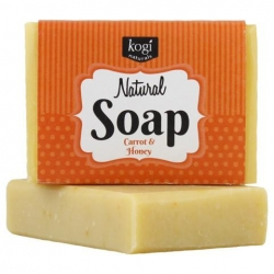Kogi Bar Soap (Carrot & Honey) (100g)