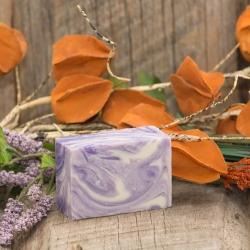Eden Vegan Bar Soap (Lavender Swirl New) (140G)