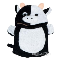 Relaxus Bath Mitt Friends (Cow)