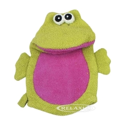 Relaxus Bath Mitt Friends (Frog)