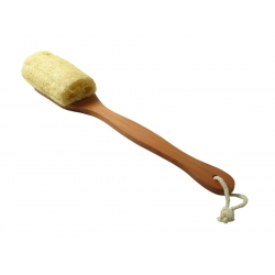 Relaxus Bamboo Loofah Back Brush