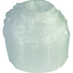 Selenite Natural Tea Light Holder (1.0-2KG)